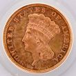 1860 $3 Gold Coin, estimated at $6,000-7,000.