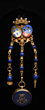 Rare English Victorian 14K Yellow Gold Chatelaine, estimated at $2,000-3,000.