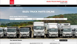 Isuzu Commercial Vehicles Parts and Accessories Website