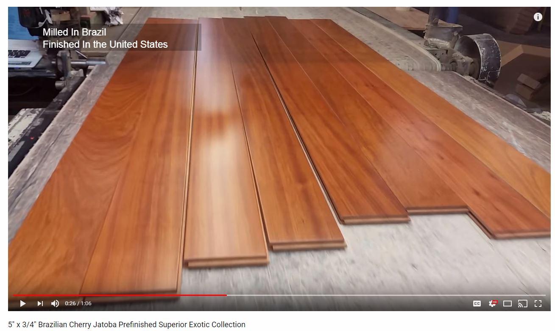Brazilian Cherry Floorsbrazilian Floors Prefinished Hardwood