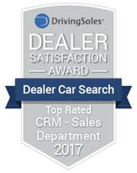 Dealer Car Search Wins Top Rated CRM Award