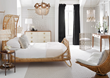 The Ara Bed paired with Justina Blakeney and Selamat home decor completes the bedroom.