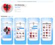 FaithStickers.com - iTunes App Store -AshWednesday StValentine Sticker Pack