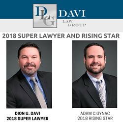 Dion Davi | Davi Law Group | Super Lawyer | Rising Star