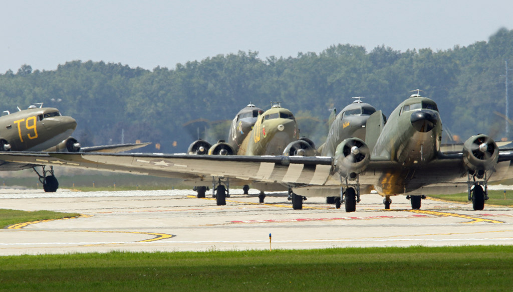 Launch of D-Day Squadron to Bring American C-47s Back Over ...  Launch of D-Day...