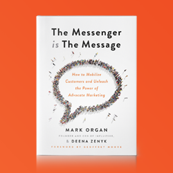 The Messenger is the Message - new book by Mark Organ