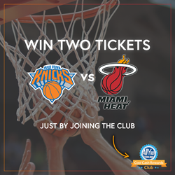 Miami Heat vs New York Knicks Basketball Game Ticket Giveaway