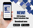 KM Coatings Releases Liquid Calculator App 2.0