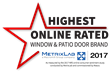 Milgard is Highest Online Rated Window and Patio Door Brand for Second Year in a Row