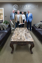 Riverside Homebuilders' leadership has worked together for more than 12 years.