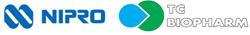 NIPRO Corporation and TC BiopHarm logo