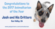 PetPartners, Inc. Names the Winner of the 4th Annual Animaltarian of the Year Award Contest