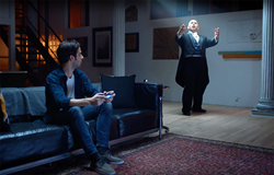 "Adelmo Guidarelli in SONY's PS4 Pro ""Opera"" commercial"