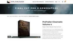 ProTrailer Cinematic Volume 4 - Pixel Effects - FCPX Plugins