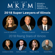 Wheaton, Illinois, Attorneys Chosen for Super Lawyers, Rising Stars Lists for 2018