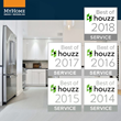 Houzz Awards MyHome with Best Of Customer Service for Fifth Consecutive Year
