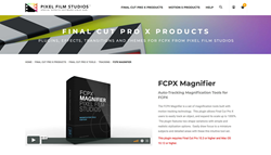 PFS Plugins - FCPX Magnifier - Final Cut Plugins