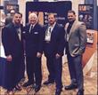 Venture Construction Group of Florida CEO Stephen Shanton with team and WindStorm Insurance Conference Keynote Speaker Frank Abagnale, Jr.