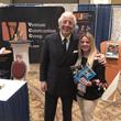 Venture Construction Group of Florida Operations Director Sandra Villareale Lawson and WindStorm Insurance Conference Keynote Speaker Frank Abagnale, Jr.