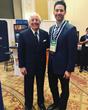 Venture Construction Group of Florida Outreach Coordinator Michael DiPerna and WindStorm Insurance Conference Keynote Speaker Frank Abagnale, Jr.