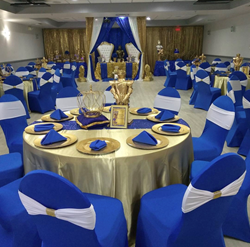 Fort Lauderdale banquet hall and conference center completes renovations to include new floors, updated furniture, lights and audio-visual upgrades including HD TVs