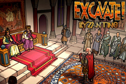 Excavate! Byzantine screenshot featuring history scene