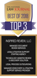 Inspired Review Wins Top Awards for 5 Categories in the 2018 National Law Journal Reader Survey