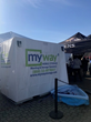 MyWay Mobile Storage of Baltimore Donated Portable Storage Units to the 22nd Annual MSP Polar Bear Plunge Benefiting Special Olympics of Maryland
