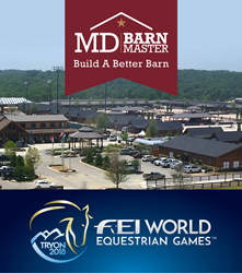 MD Barnmaster official barn sponsor Tryon 2018 World Equestrian Games