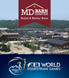 MD Barnmaster Official Barn Sponsor for Tryon 2018 World Equestrian Games