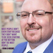 """Don't be most people."" - Ryan Higgins"