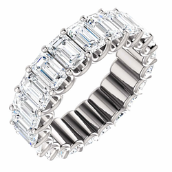 Eternal-Love Eternity Band in Platinum