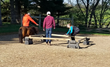 Members of the Ohio Association of Realtors and Students from Ashland University Participate in the Wager's Way Equine Assisted Action Learning program