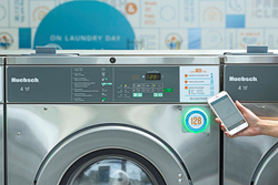 Washlava makes laundry day easy with a simple mobile app interface and unique LED status indicator.