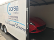 Corsia Logistics Adds a Specialized Enclosed Auto Transport Carrier
