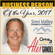 Alex Gandel, Business Person of the Year