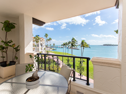 View from 2333 Fisher Island Drive
