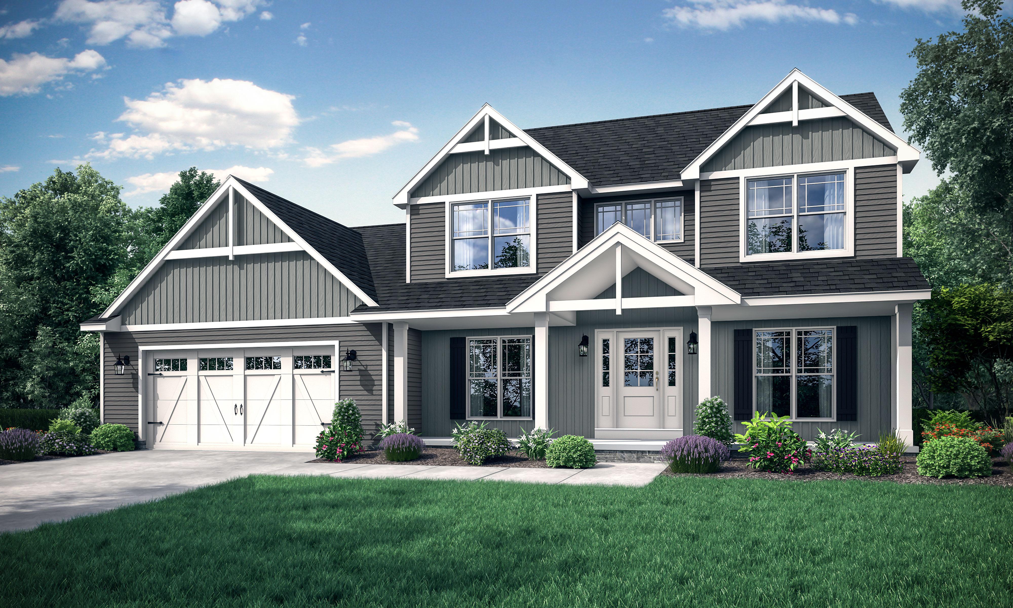 Wayne Homes Announces Construction Of New Model At Sunbury