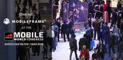 MobileFrame attending 2018 Mobile World Congress