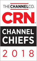EVP, Sales & Marketing Bob Buchanan Honored as 2018 CRN® Channel Chief