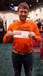David Orgain, Birdseye Building Co., Burlington, VT won second place with a $1,500 prize.