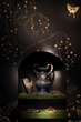 Fromental wallpaper perfectly captures the mood of Lush Decadence for the TCH Collection launch