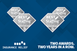 Insurance Relief Named 2-Time Winner of Inavero's Best of Staffing® Client and Talent Diamond Awards