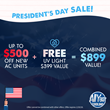 South Florida Air Conditioning Company Celebrates President's Day with a New Coupon