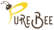Logo PureBee - all-natural cosmetics