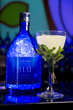 """Andrew Woodley's """"Gift of the Islands"""" was the winning cocktail at the 2018 iichiko BLŪ Bartender Competition."""