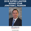 Chicago Social Security Disability Attorney Jonathan L. Pearson Named to Super Lawyers' Rising Stars List