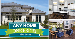 Gehan Homes, Any Home One Price, New Home Sale