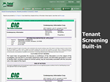 CICTotal Manager has CIC tenant screening built-in and at a discounted price