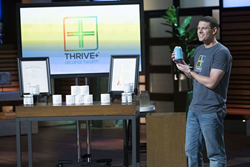 Brooks Powell pitches Thrive+® (pronounced thrive or thrive plus) on ABC's Shark Tank.